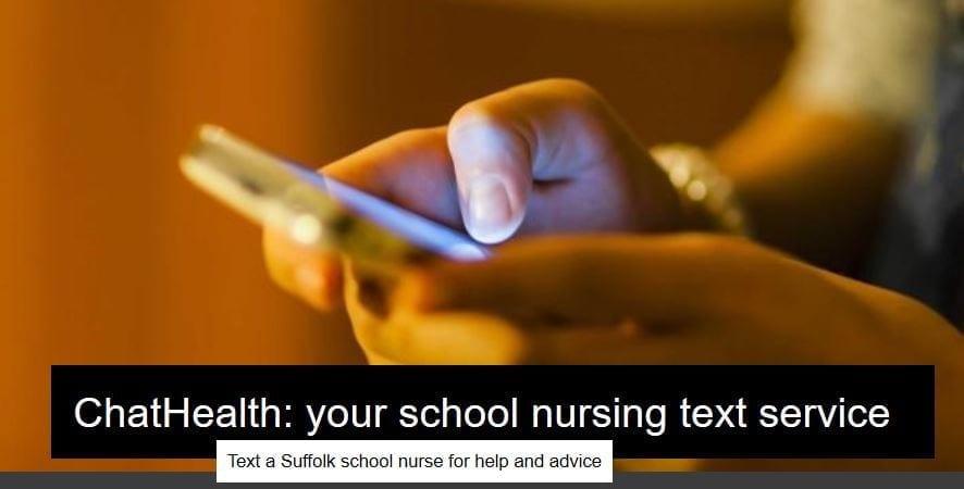 ChatHealth: your school nursing text service