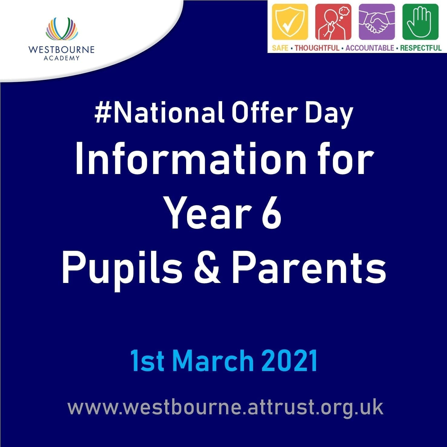 #National Offer Day Information for Year 6 Pupils & Parents