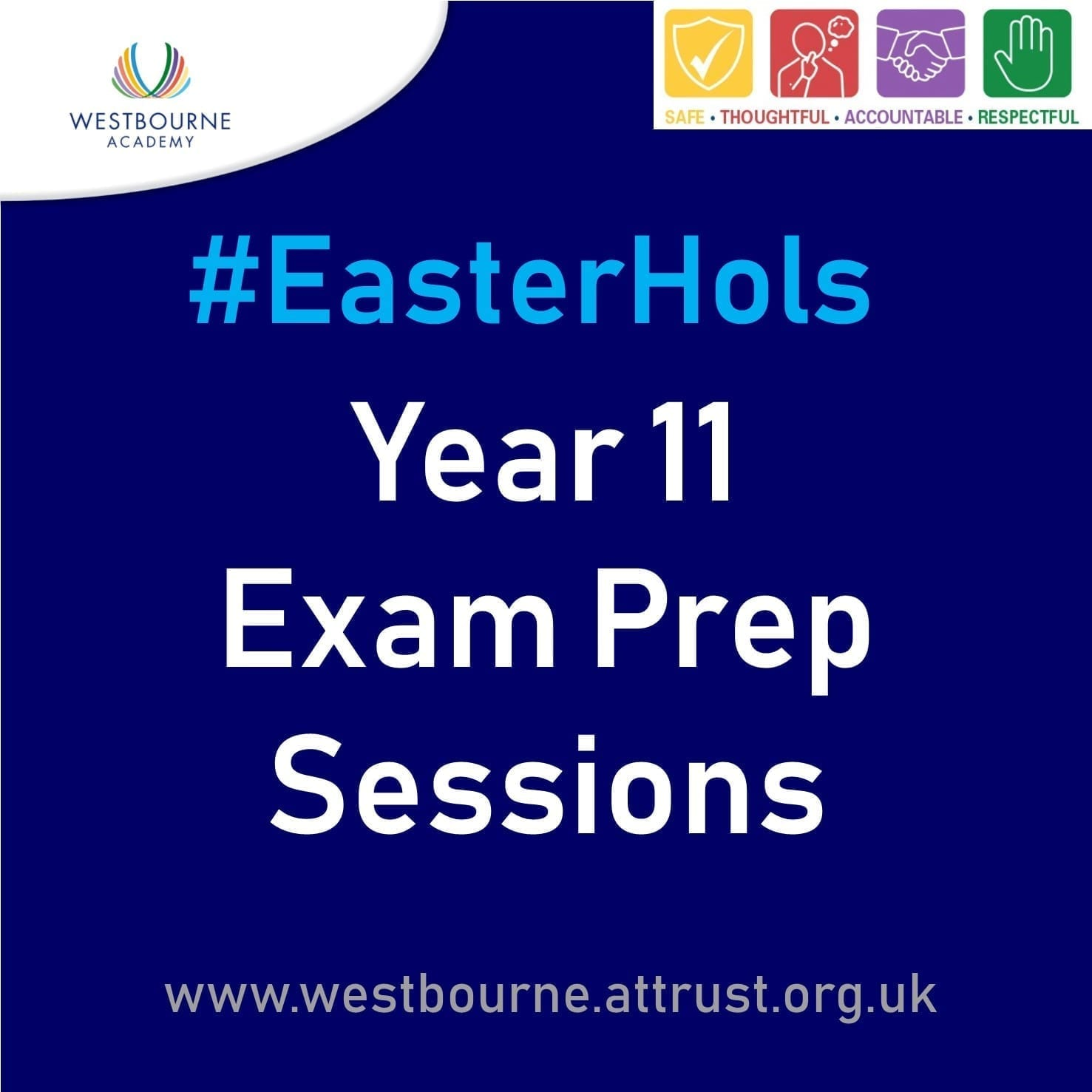 #EasterHols Y11 Exam Prep Sessions