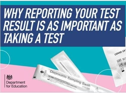 Why reporting your test result is as important as taking a test