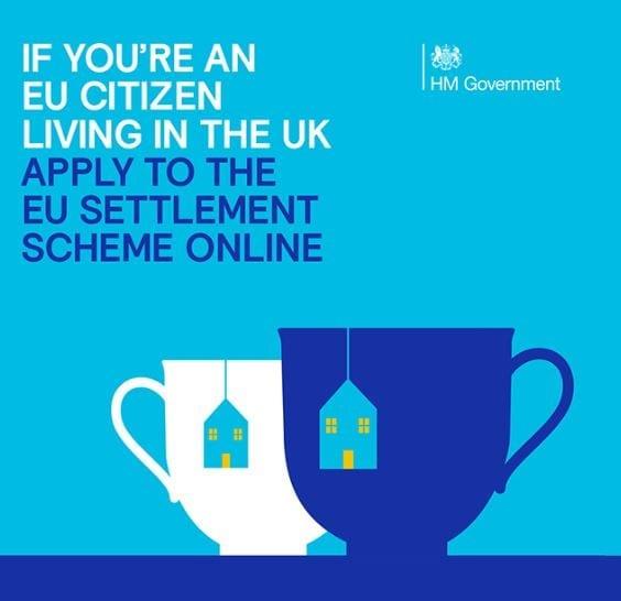 If you're an EU citizen living in the UK apply to the EU settlement scheme online