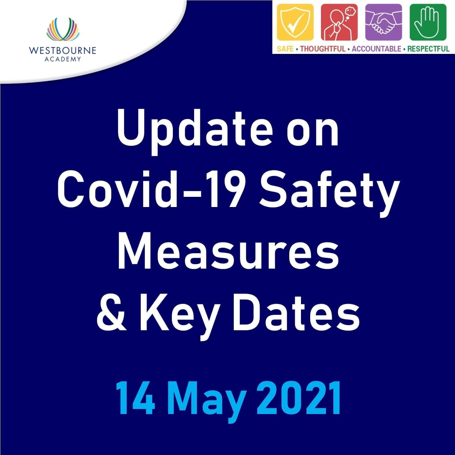 Update on Covid-19 Safety Measures & Key Dates 14/05/21