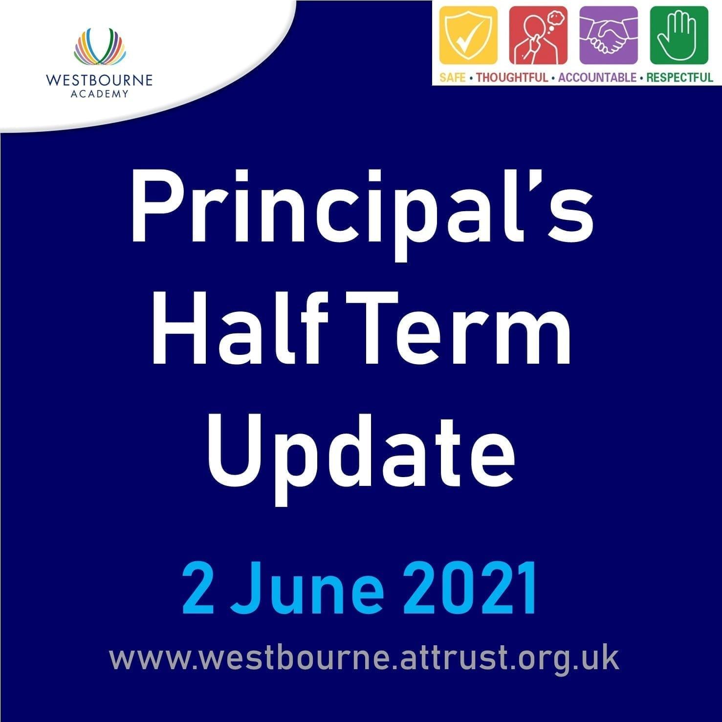 Principal's Half Term Update 2 June 2021