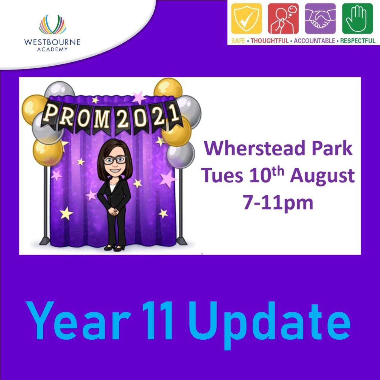 Prom 2021 - Y11 Update