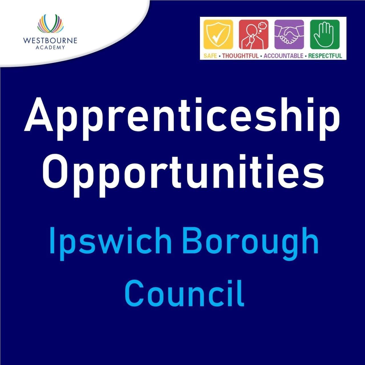 Apprenticeships at Ipswich Borough Council