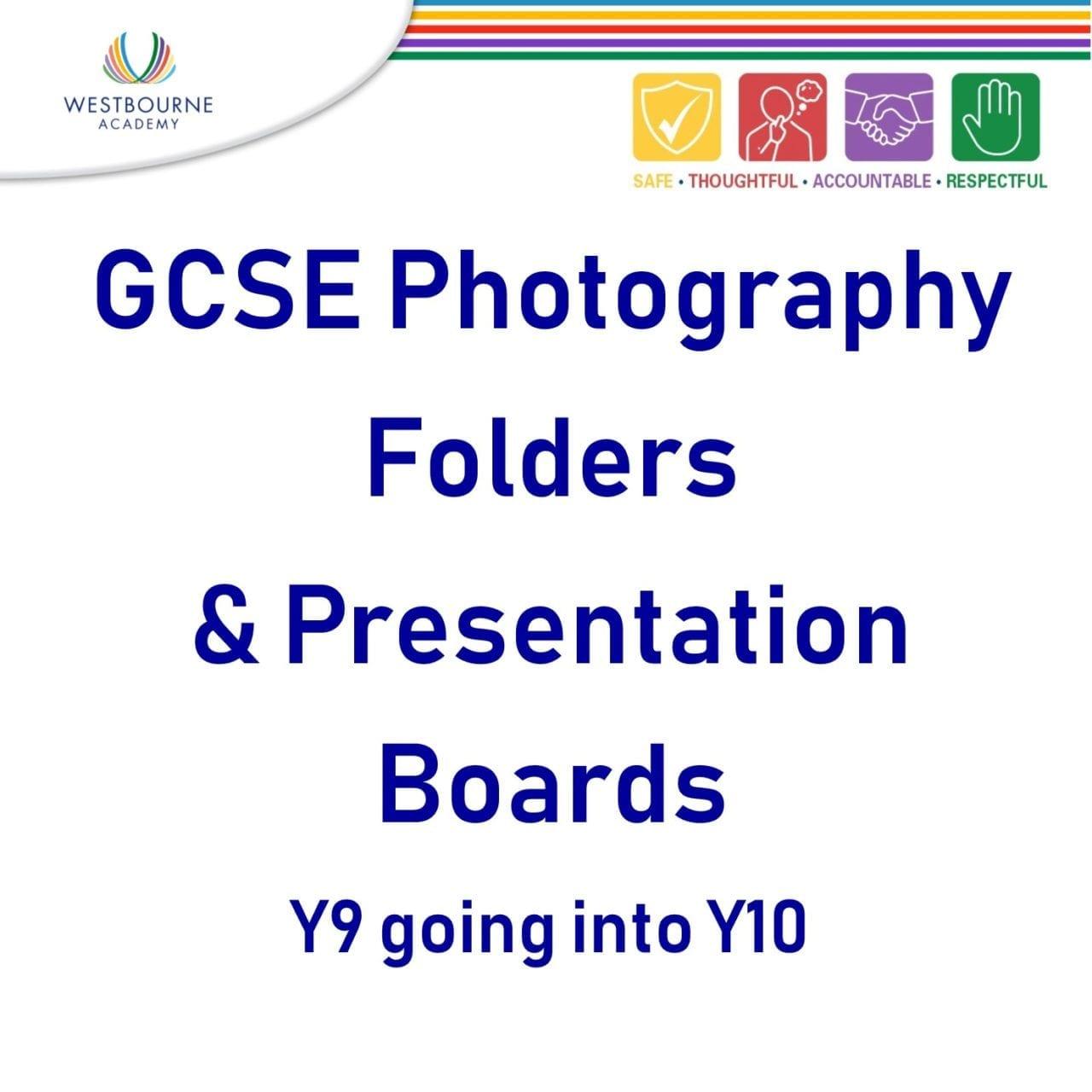 GCSE Photography Folders