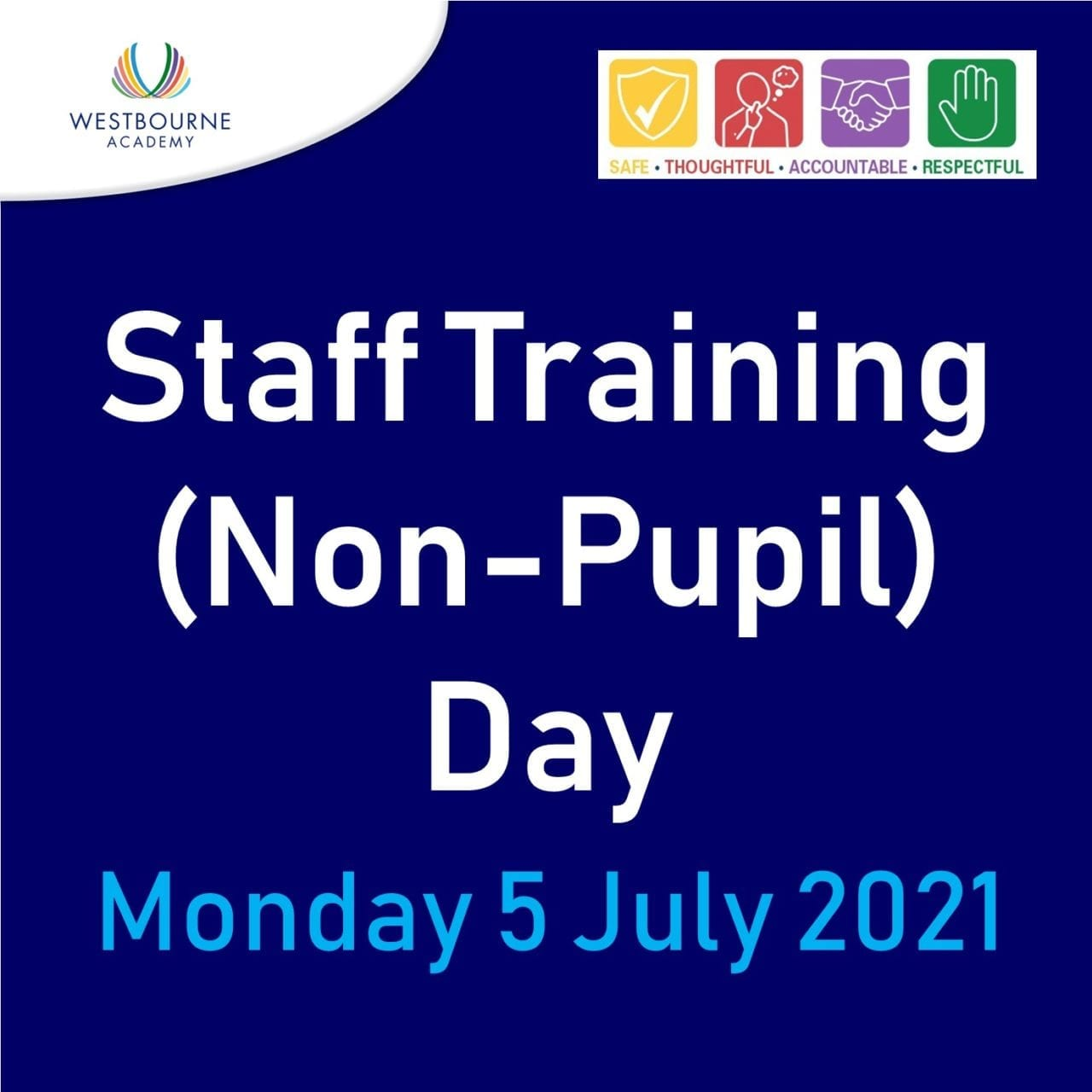 Staff Training Day 5 July 2021